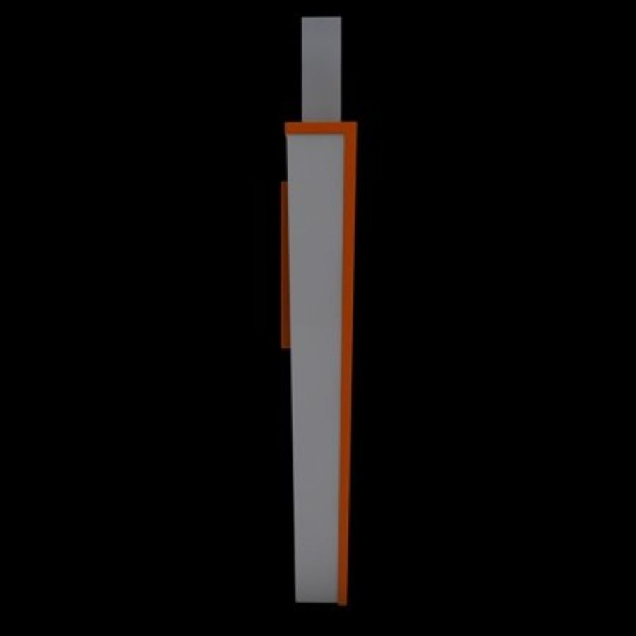 USB-FLASH royalty-free 3d model - Preview no. 6
