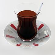 Tea Glass Cup 3d model