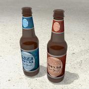 Bottiglie Di Birra 3d model