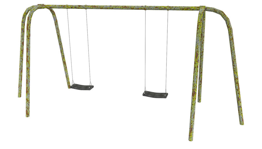 Balanços antigos royalty-free 3d model - Preview no. 1