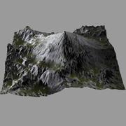 Terrain Heightmap HillMount 3d model