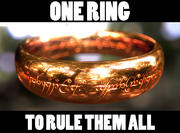 The One Ring (Lord of the Rings) 3d model