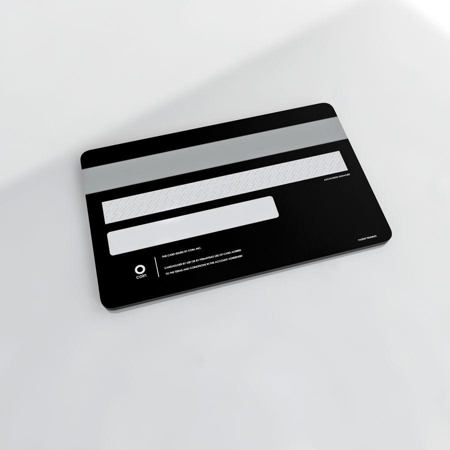 монетная карта royalty-free 3d model - Preview no. 4