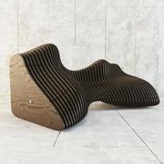 скамейка 3d model