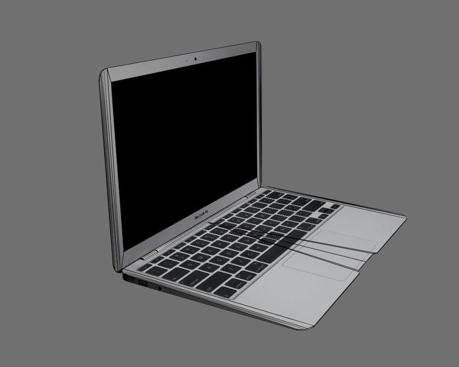 リアルなMac Book Air royalty-free 3d model - Preview no. 10