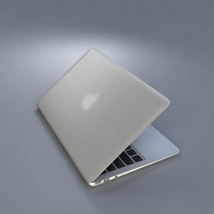 リアルなMac Book Air royalty-free 3d model - Preview no. 6