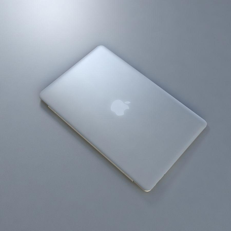 リアルなMac Book Air royalty-free 3d model - Preview no. 5
