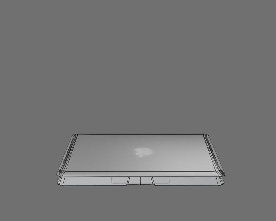 リアルなMac Book Air royalty-free 3d model - Preview no. 9