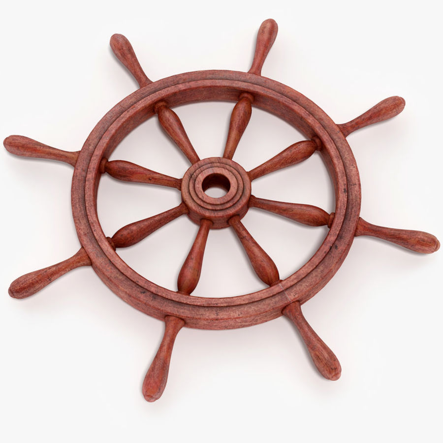 Steering Wheel royalty-free 3d model - Preview no. 1