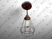 Industrial Pendant Lamp 1 3d model