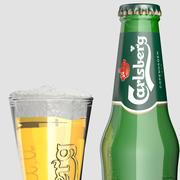 Birra Carlsberg 3d model