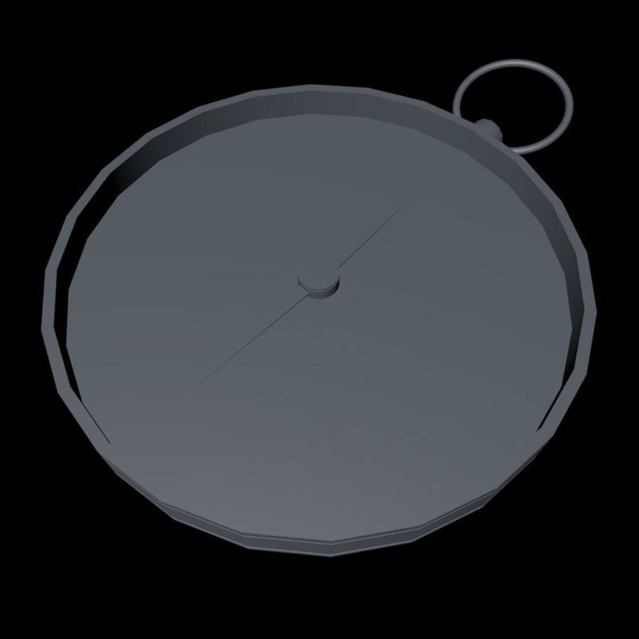 나침반 royalty-free 3d model - Preview no. 11