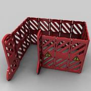 Safety Barrier 3d model