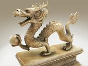 China Dragon 3d model