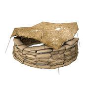 WW2 MG Nest 2 3d model
