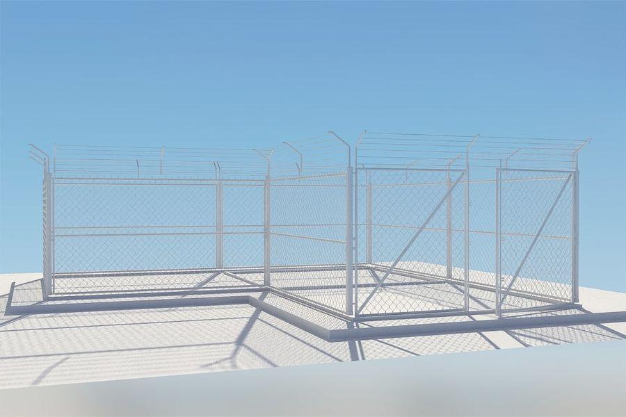 基本的なフェンス royalty-free 3d model - Preview no. 6