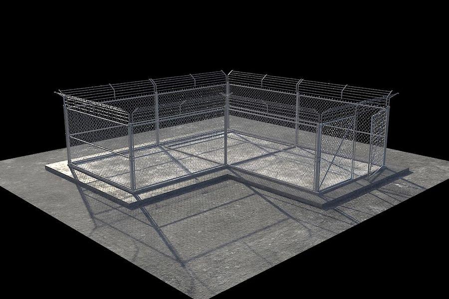 基本的なフェンス royalty-free 3d model - Preview no. 1