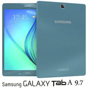 Samsung Galaxy Tab A 9.7 Smoky Blue 3d model