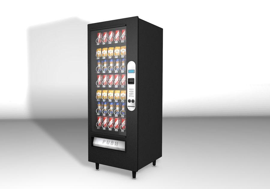 自动售货机 royalty-free 3d model - Preview no. 1