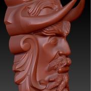Máscara de guerra 3d model
