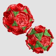 幾何学的形状 3d model