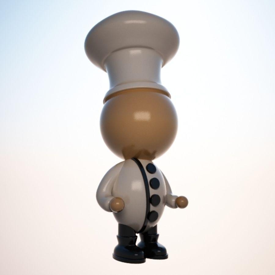 Personaggio dei cartoni animati royalty-free 3d model - Preview no. 2