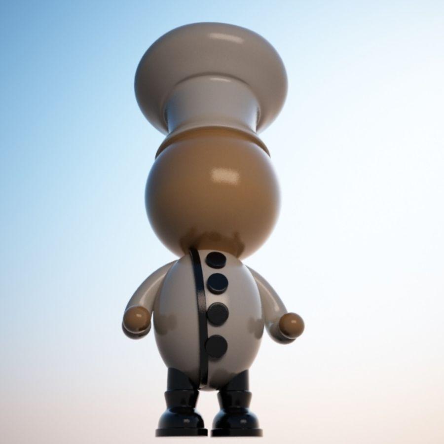 Personaggio dei cartoni animati royalty-free 3d model - Preview no. 5