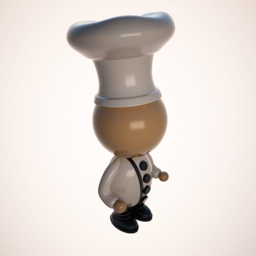 Personaggio dei cartoni animati royalty-free 3d model - Preview no. 3