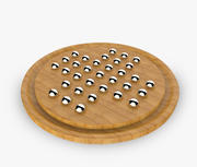 Solitario-Grand mogano in legno 3d model
