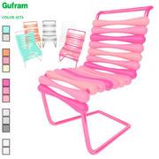 Carim Rashid Gufram Sıçrama Sandalyesi 3d model