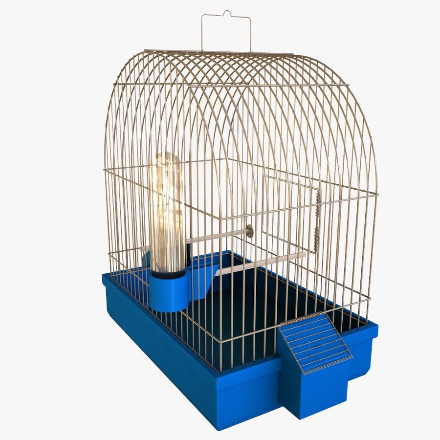 клетка для птиц royalty-free 3d model - Preview no. 2