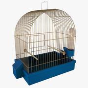 gabbia per uccelli 3d model