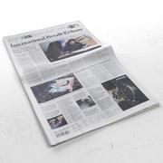 国際ヘラルドトリビューン新聞 3d model