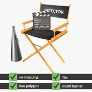 Pakiet reżysera 3d model