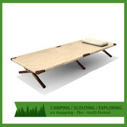 Camping bed 3d model