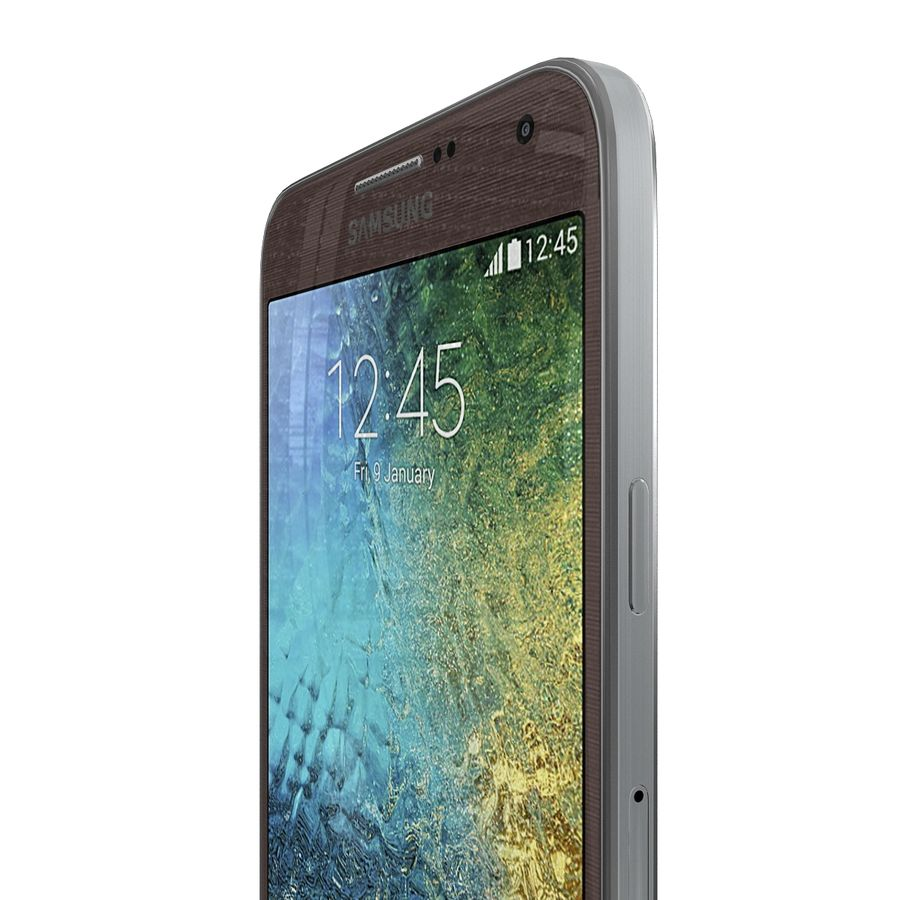 Samsung Galaxy E7 Brown royalty-free 3d model - Preview no. 8