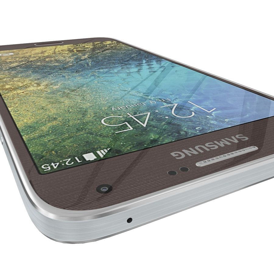 Samsung Galaxy E7 Brown royalty-free 3d model - Preview no. 14