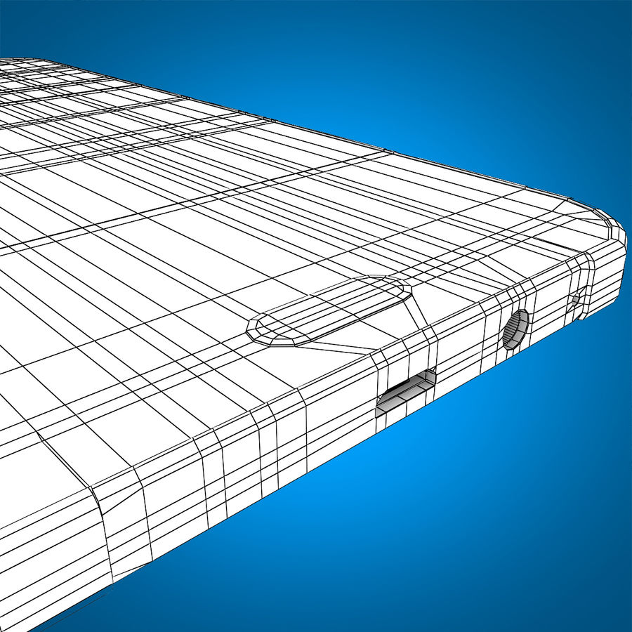Samsung Galaxy E7 Brown royalty-free 3d model - Preview no. 24