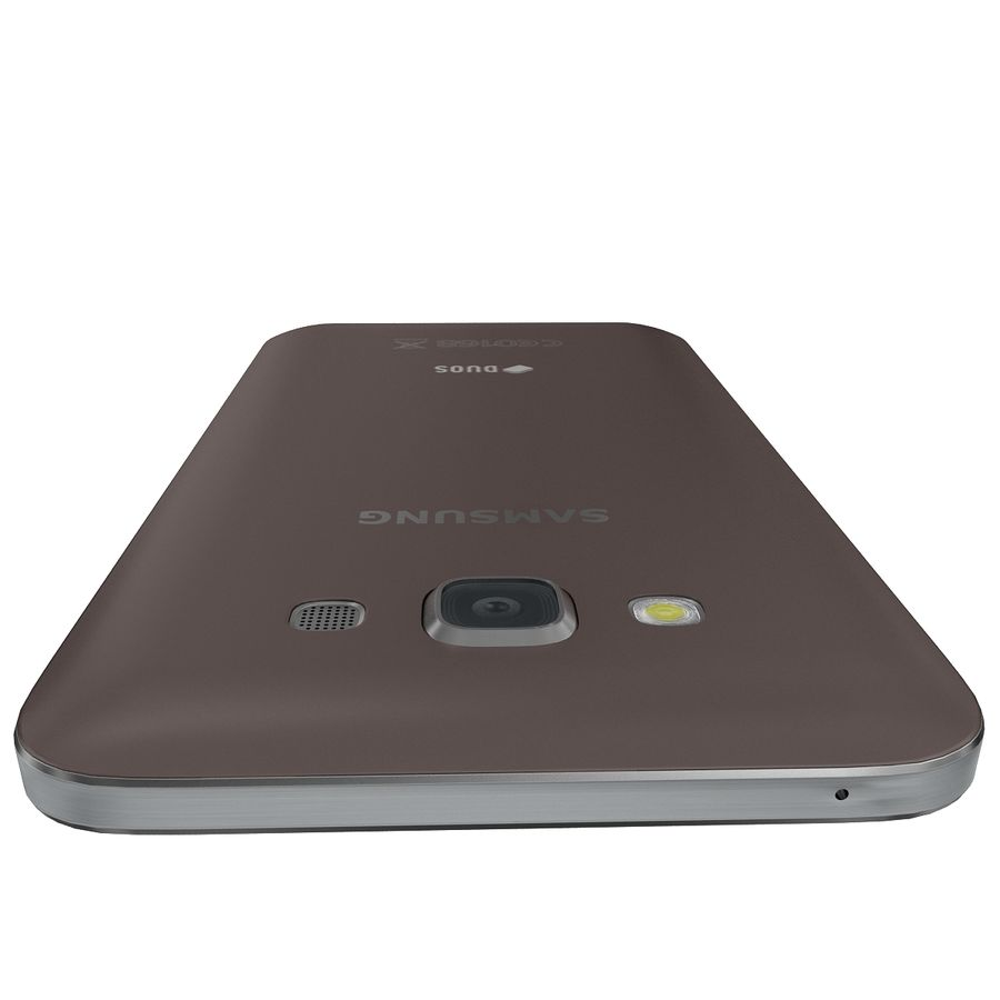 Samsung Galaxy E7 Brown royalty-free 3d model - Preview no. 11