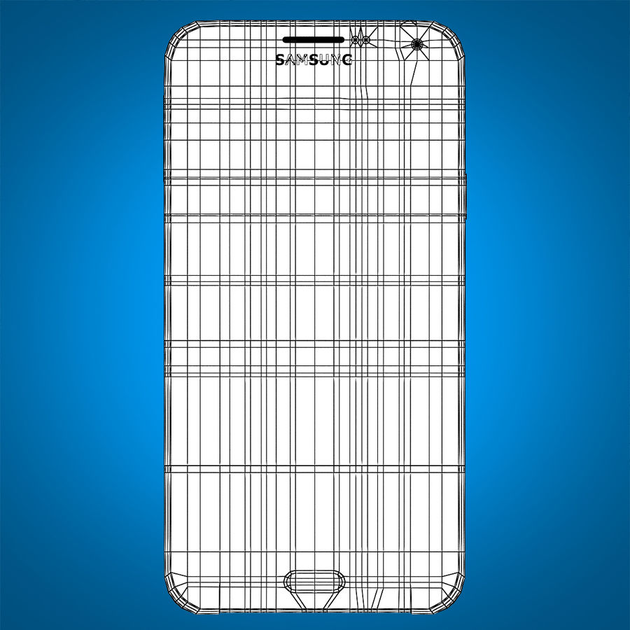 Samsung Galaxy E7 Brown royalty-free 3d model - Preview no. 18