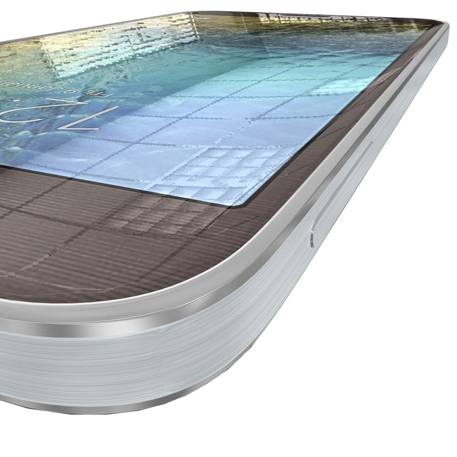 Samsung Galaxy E7 Brown royalty-free 3d model - Preview no. 13
