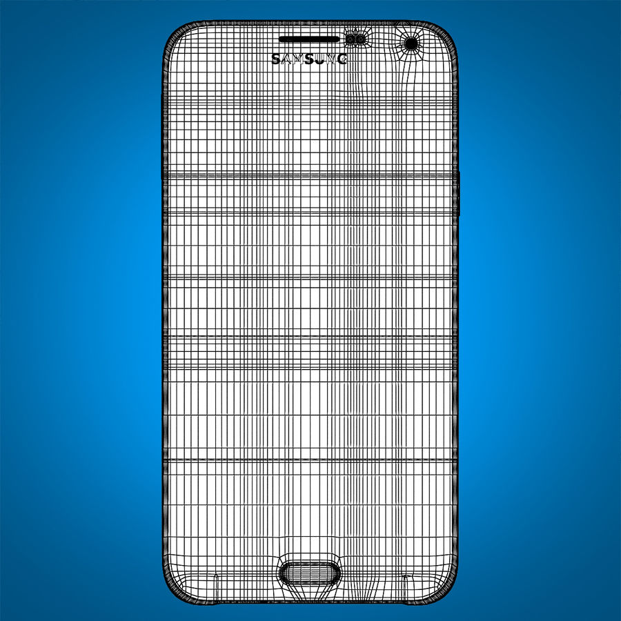 Samsung Galaxy E7 Brown royalty-free 3d model - Preview no. 19
