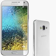 Samsung Galaxy E7 White 3d model