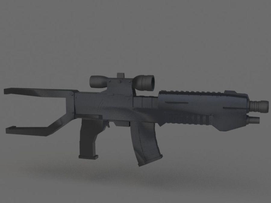arma de fogo royalty-free 3d model - Preview no. 5