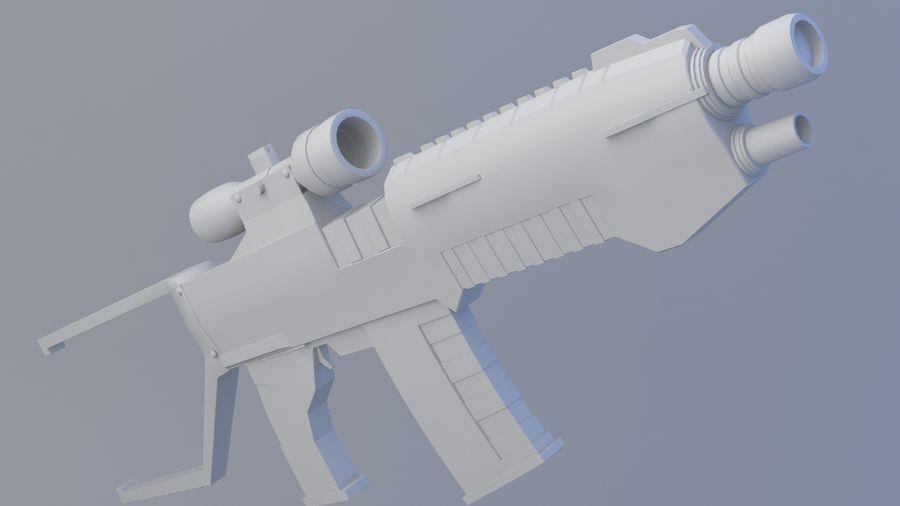 arma de fogo royalty-free 3d model - Preview no. 1