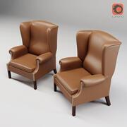 프란체스코 몰론 P362 안락 의자 3d model