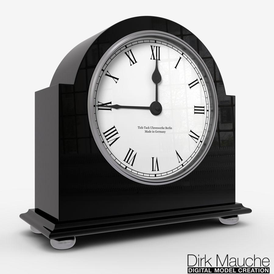 reloj de estante 02 royalty-free modelo 3d - Preview no. 1