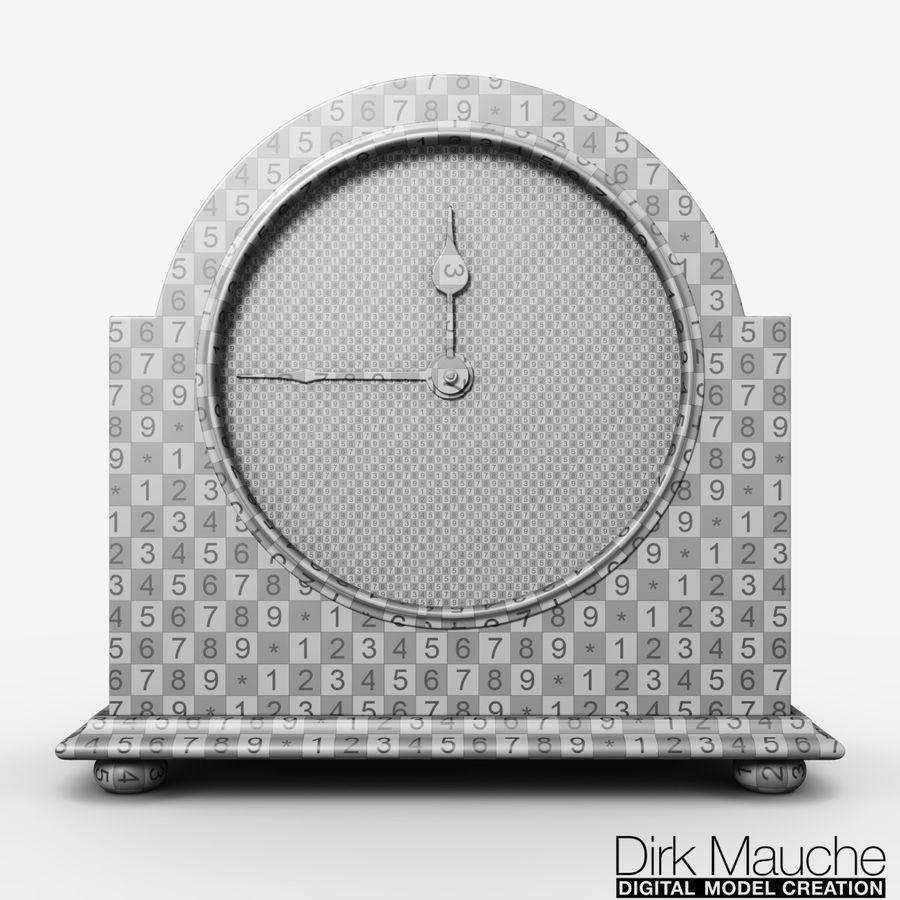 reloj de estante 02 royalty-free modelo 3d - Preview no. 8