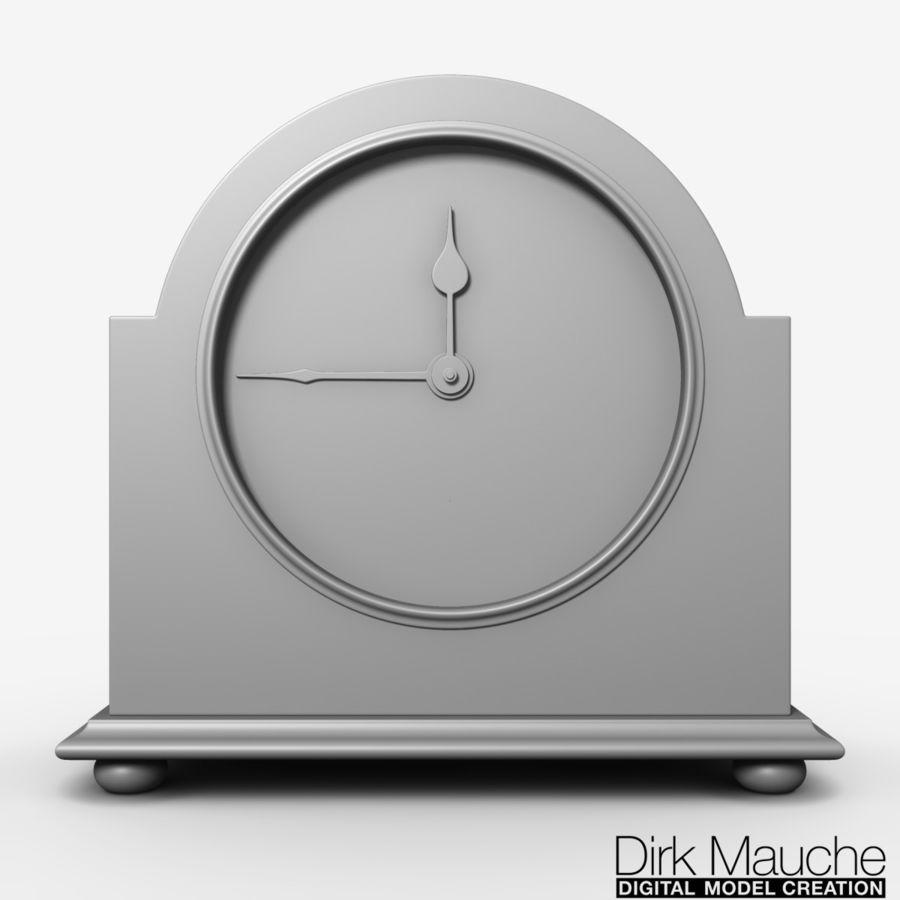reloj de estante 02 royalty-free modelo 3d - Preview no. 6