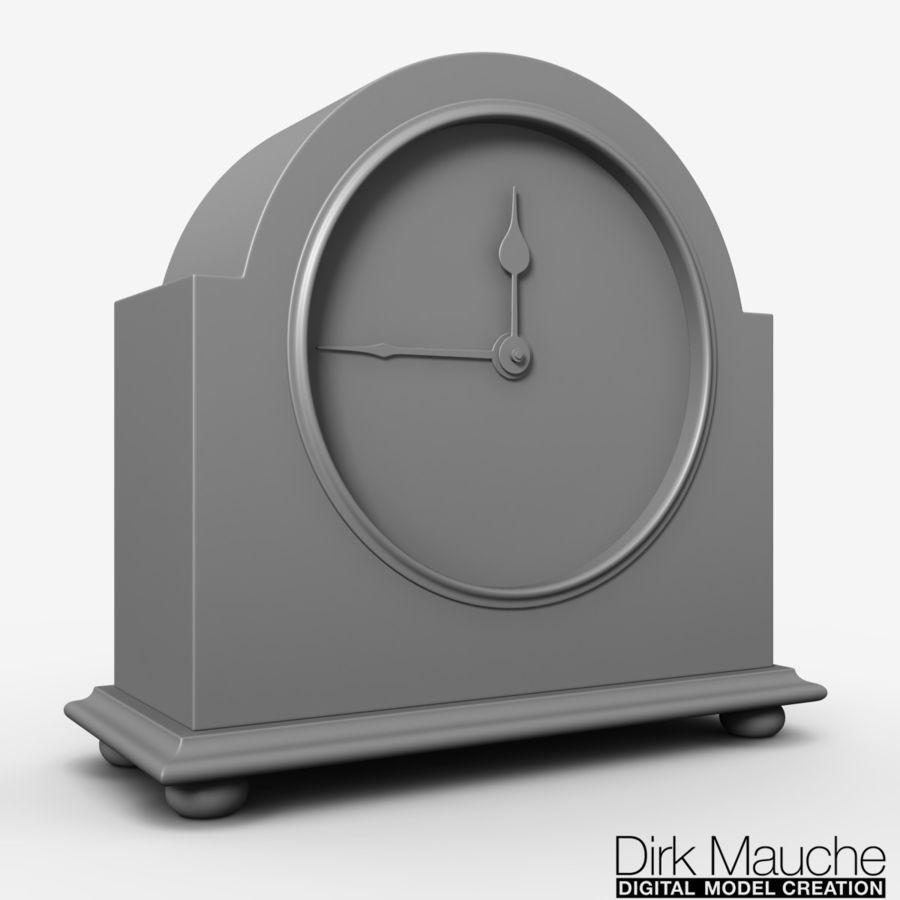 reloj de estante 02 royalty-free modelo 3d - Preview no. 2